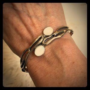 Silver cuff bracelet 💕💕💕